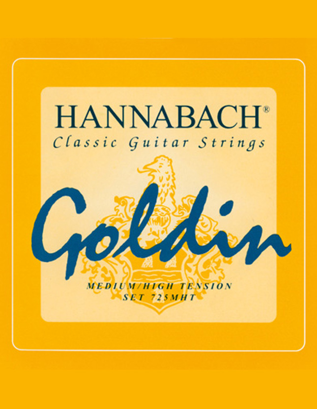 Hannabach Goldin Supercarbono
